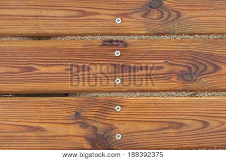 Wooden slats close -up .Background texture .