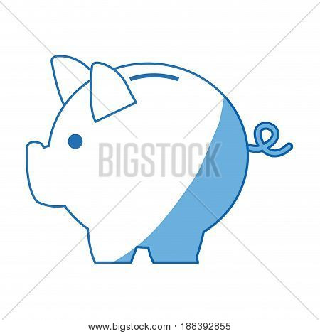 banking piggy concept, safety money financial icon vector illustration
