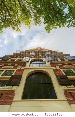 Historical Building In Enkhuizen, Netherlands
