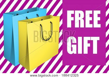Free Gift - Business Concept