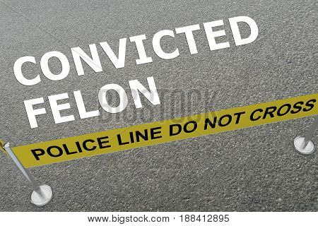 Convicted Felon Concept