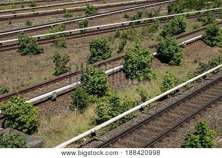 multi lane railroads - rail railway network