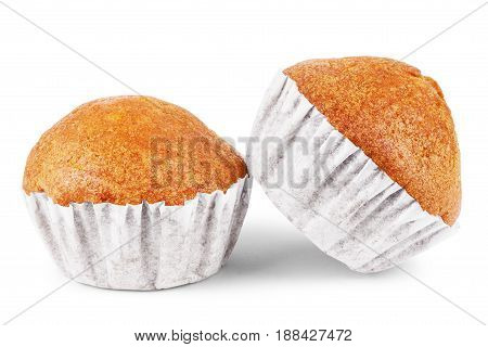 Isolated muffin on white background Cakes, Eats, Finefood, Cornmuffin