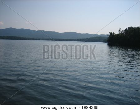 Adirondack Mountains Over Lake George