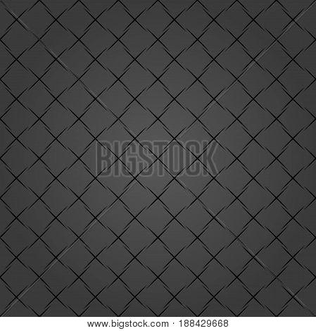 Geometric abstract dark pattern. Geometric modern ornament. Seamless modern background
