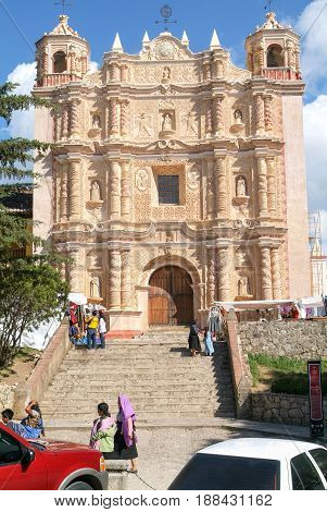 Church Of Saint Domingo At San Cristobal De Las Casas