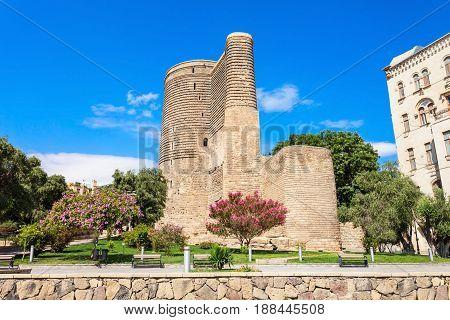 Maiden Tower In Baku
