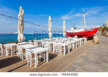Beauty Restaurant, Mykonos Island