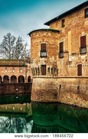 Medieval Rocca Sanvitale Castle
