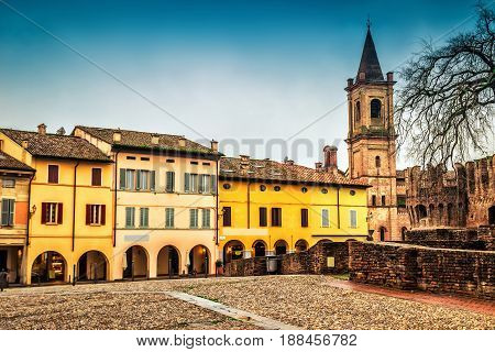 Medieval Town Of Fontanellato