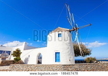 Wndmill In Parikia, Paros