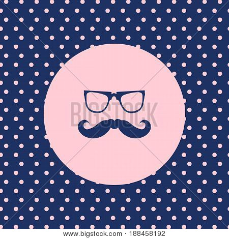 special abstract hipster background vector eps10, illustration
