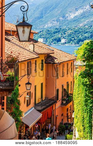 Old Scenic Streets In Bellagio