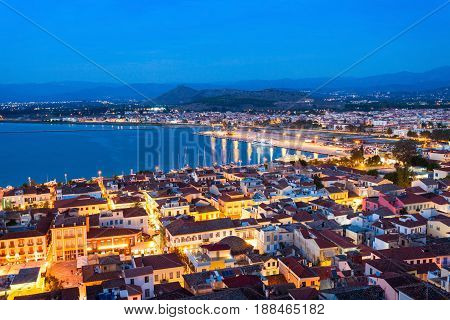 Nafplio Aerial View, Greece