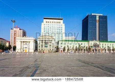 Chinggis Sukhbaatar Square, Ulaanbaatar