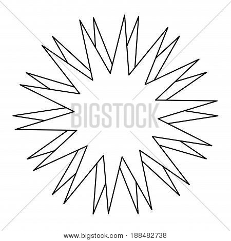 star abstract explosion effect celebration carnival vector illustration