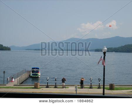 Beautiful Day On Lake George