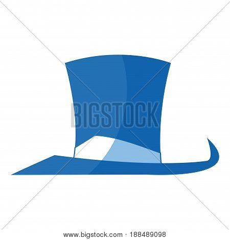 hat accessory host fun fair elegant vector illustration