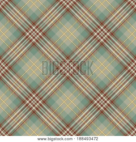 Tartan Seamless Pattern Background. Beige Red Green and White Plaid Tartan Flannel Shirt Patterns. Trendy Tiles Vector Illustration for Wallpapers.