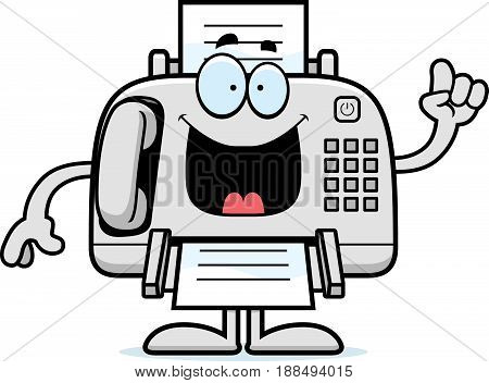 Cartoon Fax Machine Idea