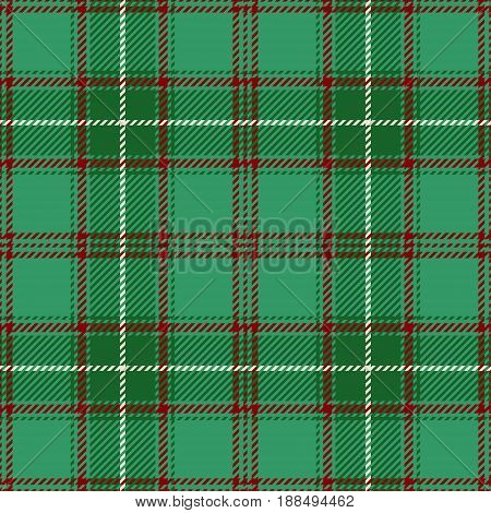 Tartan Seamless Pattern Background. Green Red and White Plaid Tartan Flannel Shirt Patterns. Trendy Tiles Vector Illustration for Wallpapers.