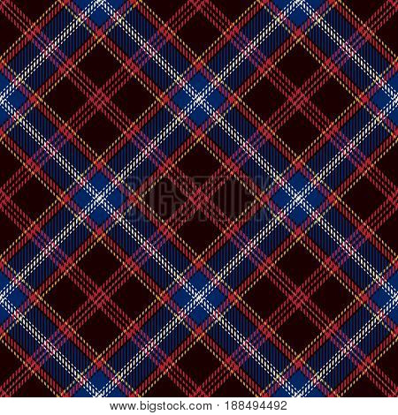 Tartan Seamless Pattern Background. Red Black Blue Yellow and White Plaid Tartan Flannel Shirt Patterns. Trendy Tiles Vector Illustration for Wallpapers.