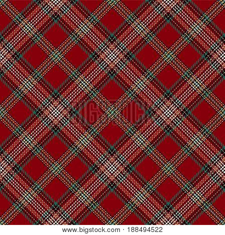 Tartan Seamless Pattern Background. Red Black Beige Green and White Plaid Tartan Flannel Shirt Patterns. Trendy Tiles Vector Illustration for Wallpapers.