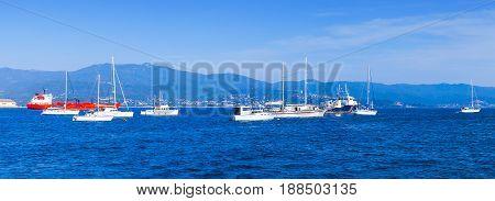 Sailing Yachts And Pleasure Motorboats