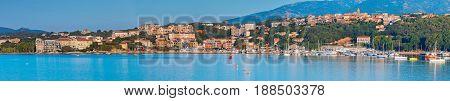 Porto-vecchio Bay, Wide Coastal Cityscape