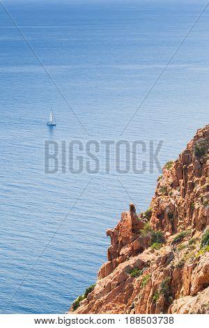 Mediterranean Island Corsica. Corse-du-sud