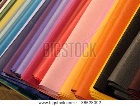 Background  Of Leather For Processing Fashion Accessories