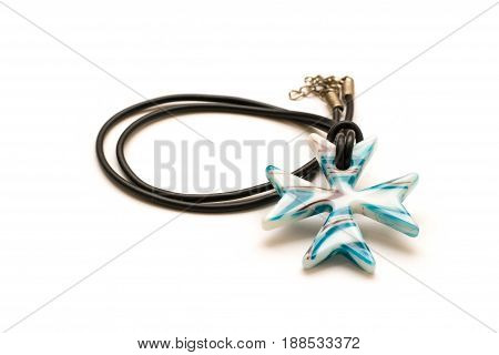 Nice pendant isolated on white background .