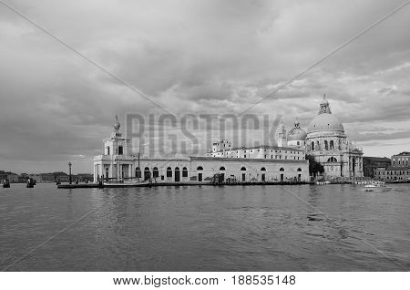 Punta della Dogana. Summer Morning in Venice