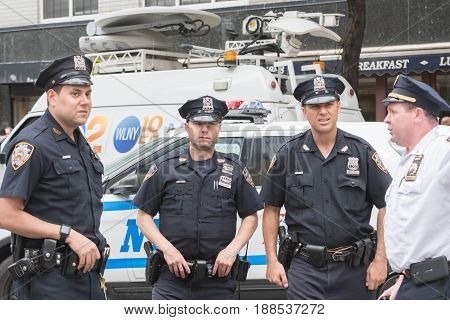 Police Officers On The Streets