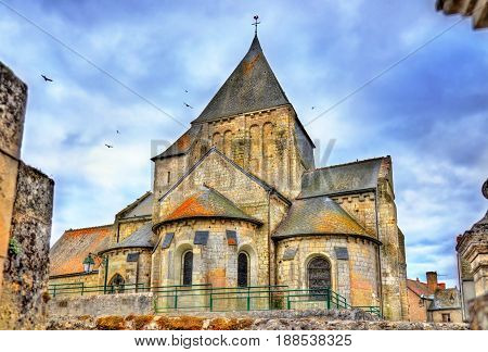 Saint Etienne Church of Villandry - France, the Loire Valley