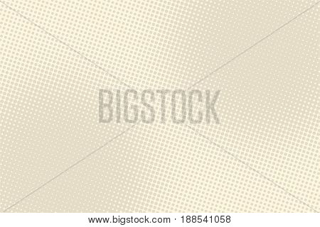 Light brown retro pop art background. vector illustration