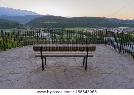 By The Town Of Ainsa In The Province Of Huesca