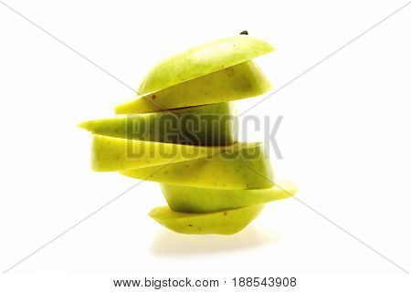 Apple Pyramid Composition