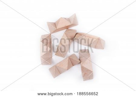 Wooden puzzle to challenge mind and test nerves