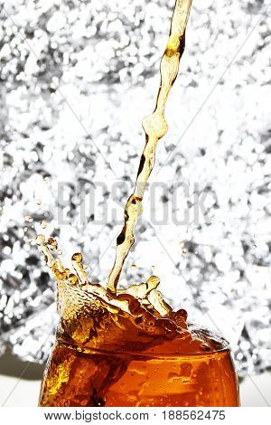 water background / An alcoholic drink is a drink that contains a substantial amount of ethanol