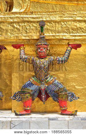 Decoration In Wat Phra Kaew