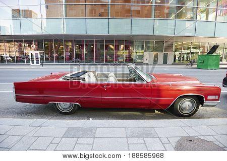 Cadillac Eldorado American Retro Car