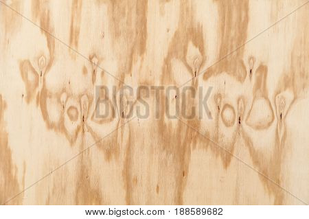 Background Texture Of Veneer Board With Knots
