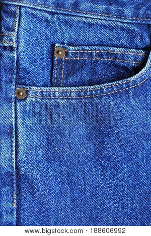 Nice background made from extreme closeup blue jeans