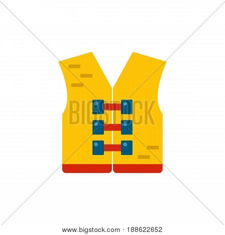 Vector Orange Life Jacketor Vest
