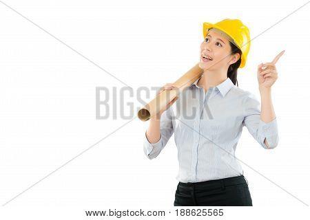 Engineer Having Good Perfect New Idea