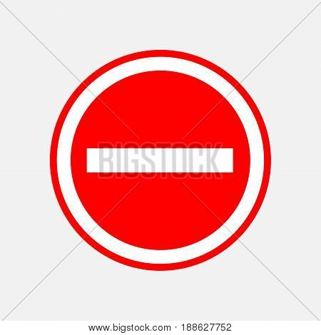 red round stop sign STOP prohibits various activities