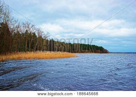 Sea At Ethnographic Open Air Village In Riga