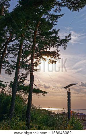 Sunset In Jurmala