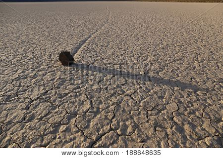 Race Track Playa in Death Valley Nationalpark, CA, USA